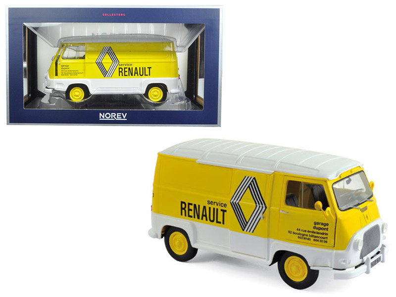 1972 Renault Estafette Assistance Renault 1/18 Diecast Model Car Norev 185168
