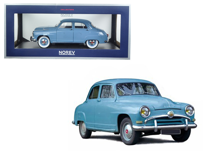 1954 Simca Aronde Light Blue 1/18 Diecast Model Car Norev 185741