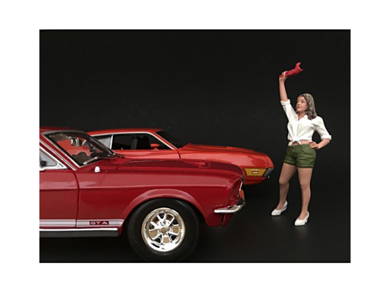 70's Style Figure II For 1:18 Scale Models American Diorama 77452