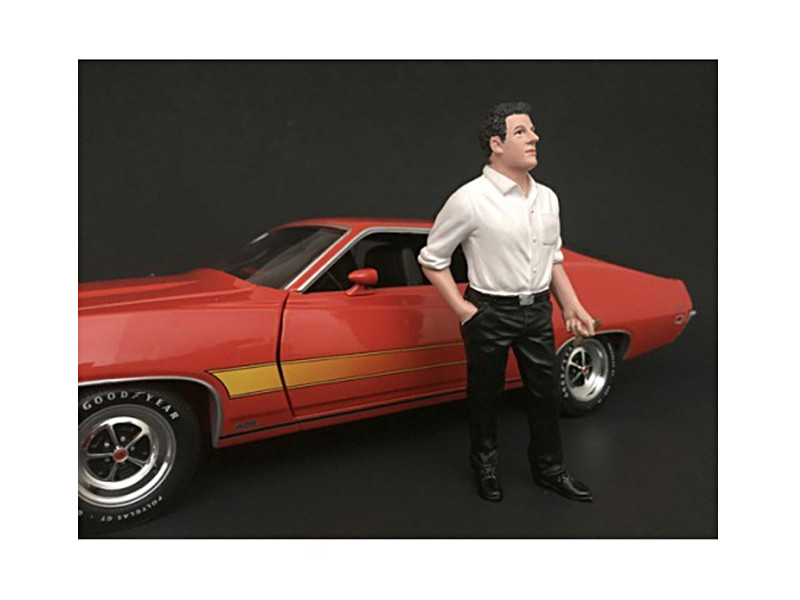 70's Style Figure III For 1:24 Scale Models American Diorama 77503
