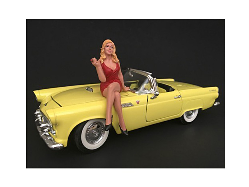 70's Style Figure IV For 1:24 Scale Models American Diorama 77504