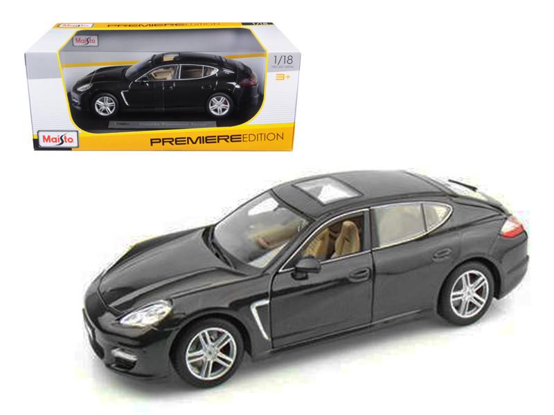 2011 Porsche Panamera Turbo Grey 1/18 Diecast Model Car by Maisto