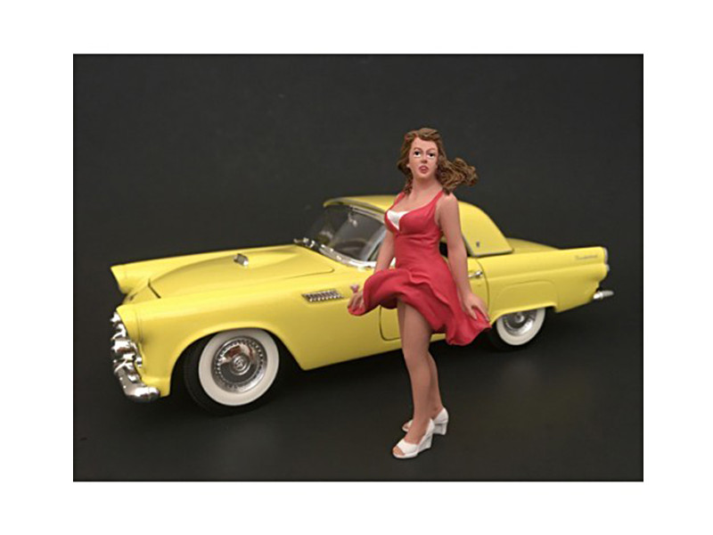 70's Style Figure VIII For 1:24 Scale Models American Diorama 77508