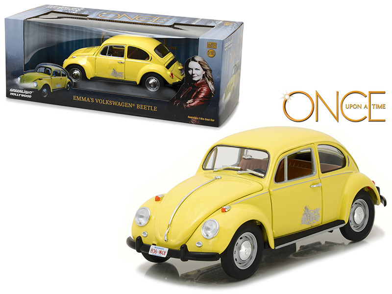 Emma's Volkswagen Beetle Yellow Once Upon a Time TV Series 2010 Current 1/18 Diecast Model Car Greenlight 12993