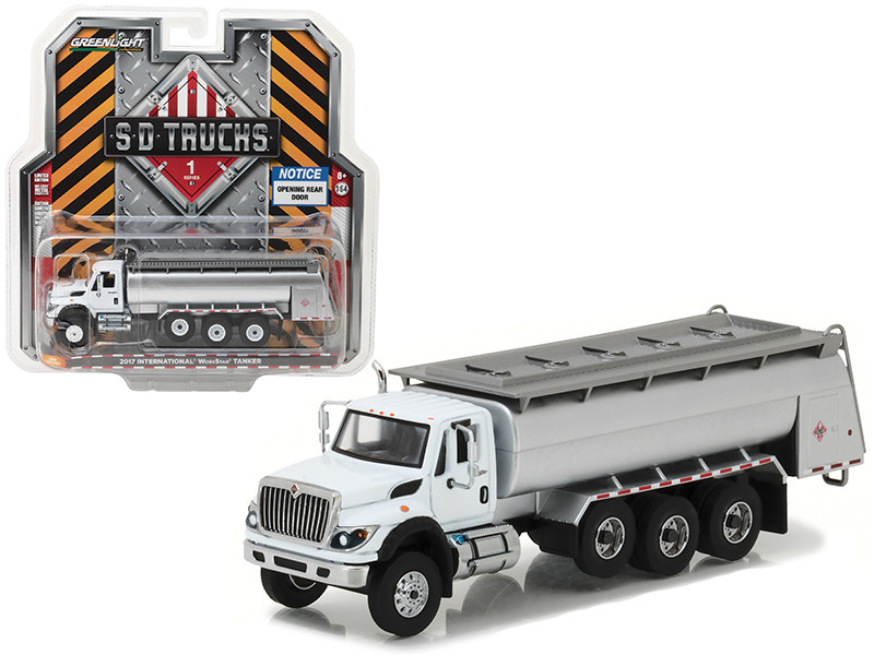 2017 International Workstar Tanker Truck SD Trucks Series 1 1/64 Diecast Model Greenlight 45010 C