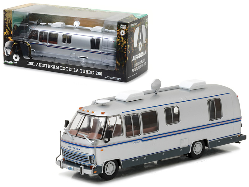 1981 Airstream Excella Turbo 280 1/43 Diecast Model Car Greenlight 86312