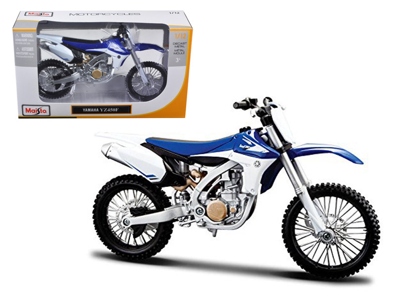 Yamaha YZ450F Motorcycle Model 1/12 by Maisto