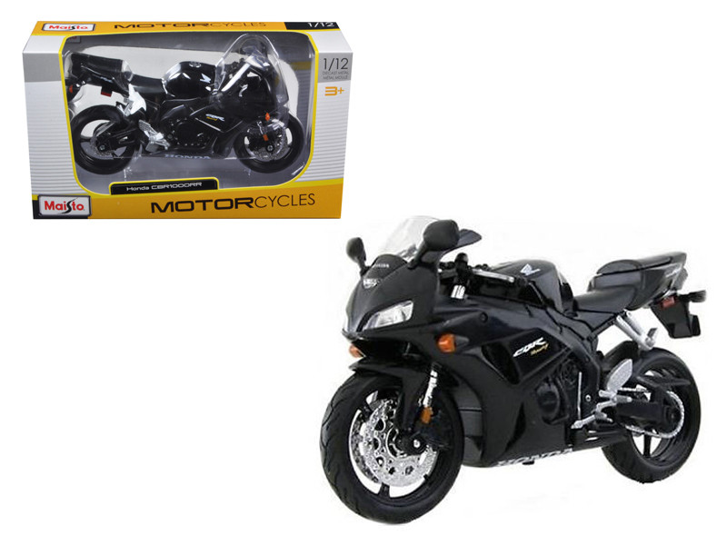 Honda CBR 1000RR Black Motorcycle 1/12 Model Maisto 31151