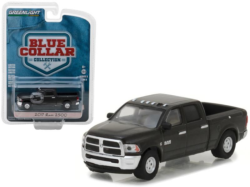 2017 Dodge Ram 2500 Pickup Truck Blue Collar Collection Series 3 1/64 Diecast Model Car Greenlight 35080 F