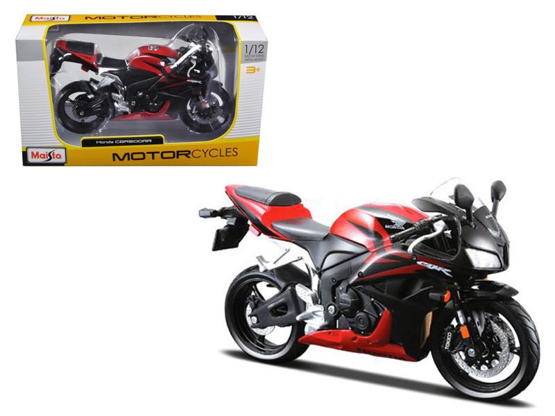 Honda CBR 600RR Red/Black Motorcycle 1/12 Diecast Model by Maisto