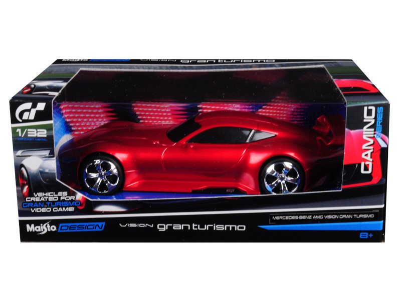 Mercedes AMG Vision Gran Turismo Red 1/32 Diecast Model Car Maisto 22302 A