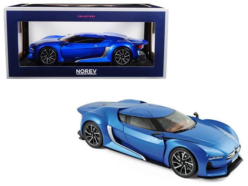 2008 Citroen Concept GT Electric Blue 1/18 Diecast Model Car Norev 181613