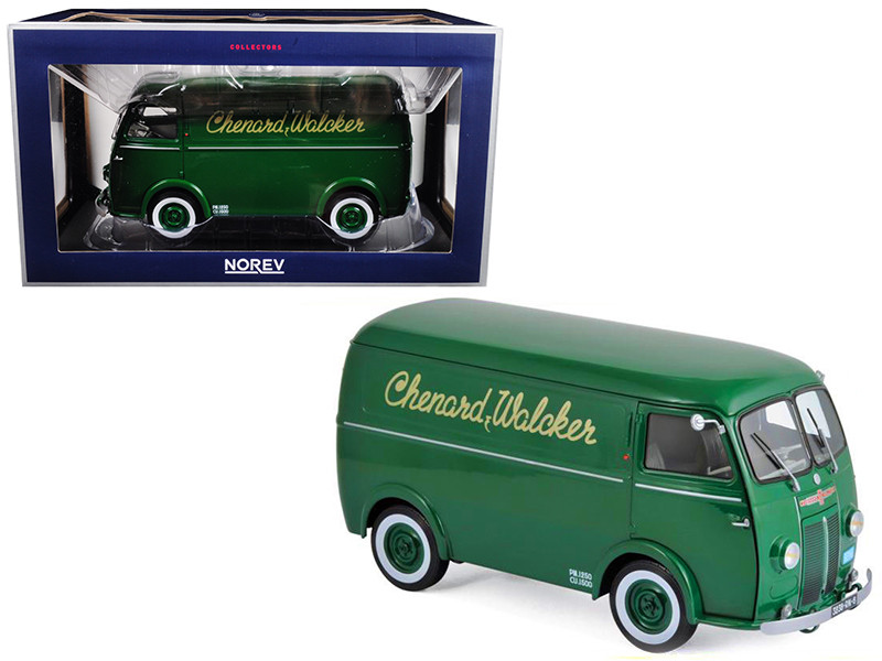 1946 Chenard and Walker CHV Green 1/18 Diecast Model Car Norev 184698