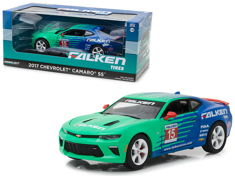 2017 Chevrolet Camaro SS Falken Tires 1/24 Diecast Model Car Greenlight 18241