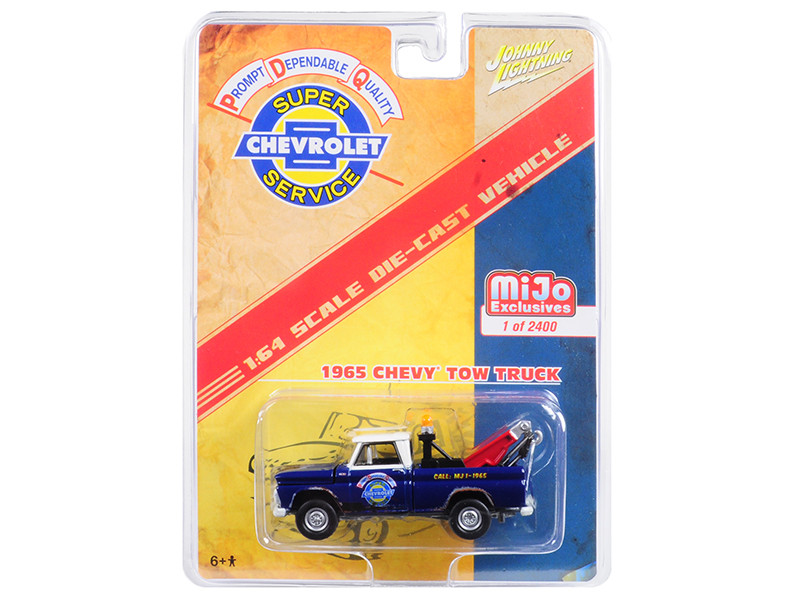 1965 Chevrolet Tow Truck Limited Edition to 2400 pieces Worldwide 1/64 Diecast Model Car Johnny Lightning JLCP7036