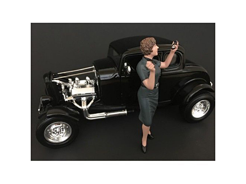 50's Style Figure IV for 1:18 Scale Models American Diorama 38154