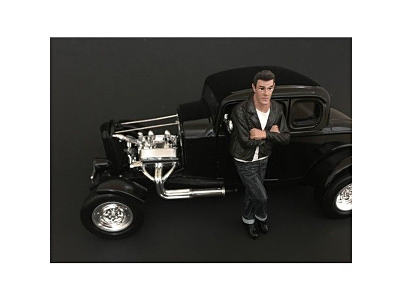50's Style Figure I for 1:24 Scale Models American Diorama 38251