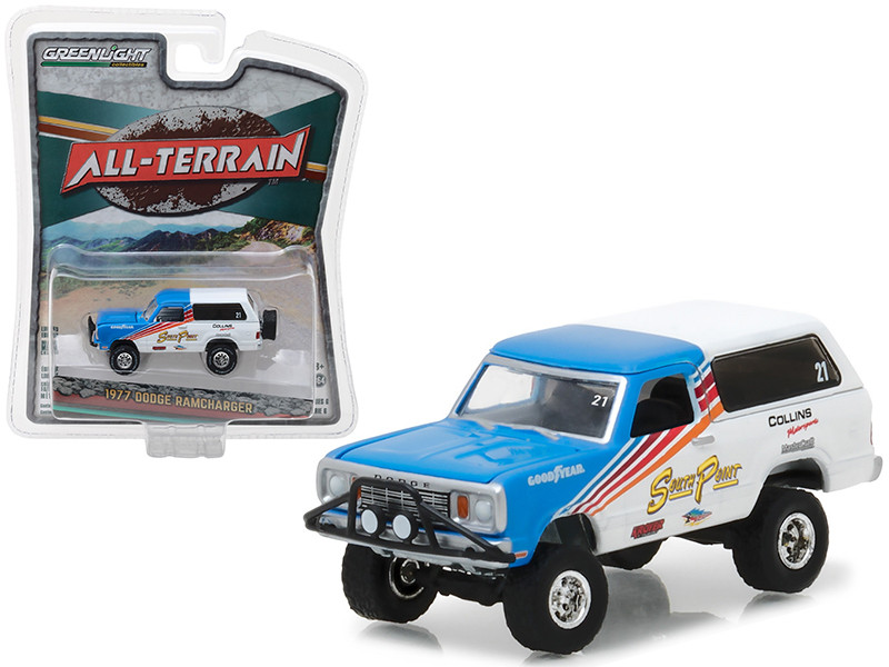 1977 Dodge Ramcharger All Terrain Series 6 1/64 Diecast Model Car Greenlight 35090 C