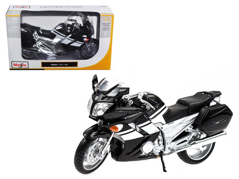 2006 Yamaha FJR 1300 Black Bike 1/12 Motorcycle by Maisto