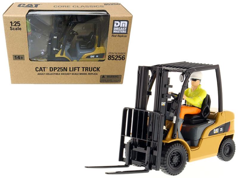 CAT Caterpillar DP25N DP/GP15-35N Range Lift Truck with Operator 1/25 Diecast Model Diecast Masters 85256