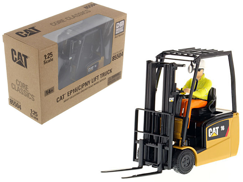 CAT Caterpillar EP16(C)PNT EP13-20 (C)PNT Range Lift Truck with Operator Core Classics Series 1/25 Diecast Model Diecast Masters 85504