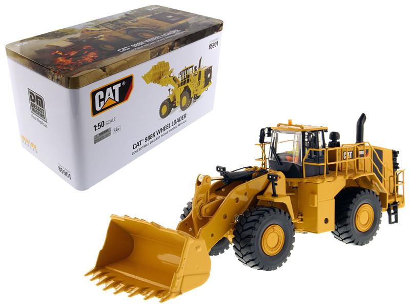CAT Caterpillar 988K Wheel Loader with Operator High Line Series 1/50 Diecast Model Diecast Masters 85901
