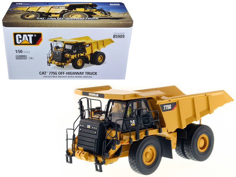 CAT Caterpillar 775G Off Highway Truck 1/50 Diecast Model Diecast Masters 85909