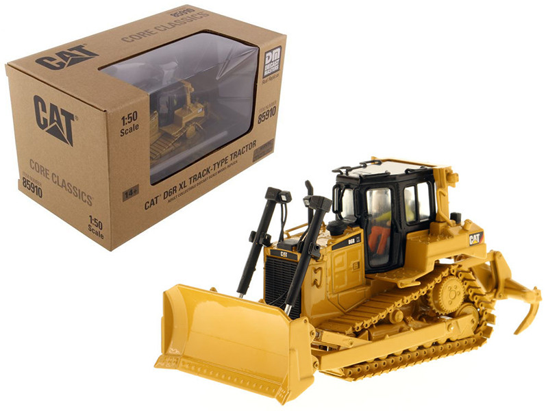CAT Caterpillar D6R Track Type Tractor Core Classics Series with Operator 1/50 Diecast Model Diecast Masters 85910