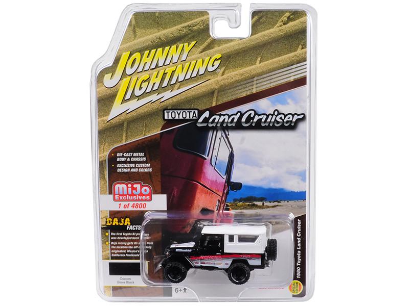 1980 Toyota Land Cruiser Baja Limited Edition to 4800 pieces Worldwide 1/64 Diecast Model Car Johnny Lightning JLCP7044