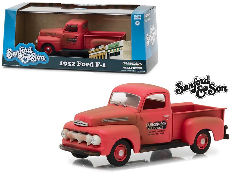 1952 Ford F-1 Pickup Truck from Sanford Son 1972-1977 TV Series 1/43 Diecast Model Car Greenlight 86521