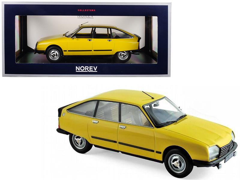 1979 Citroen GS X3 Mimosa Yellow 1/18 Diecast Model Car Norev 181624