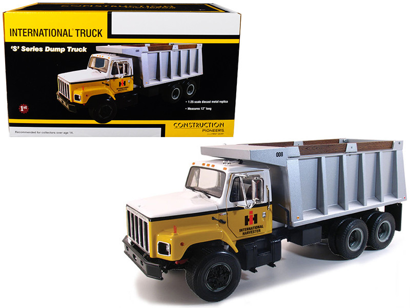International S Series Dump Truck 1/25 Diecast Model First Gear 40-0190