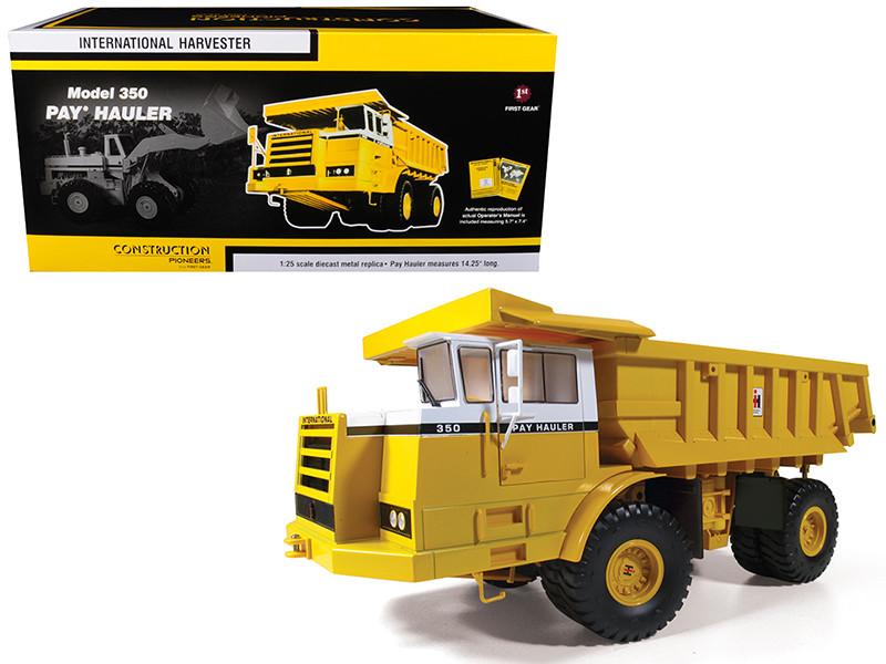 International IH 350 Pay Hauler 1/25 Diecast Model First Gear 40-0238
