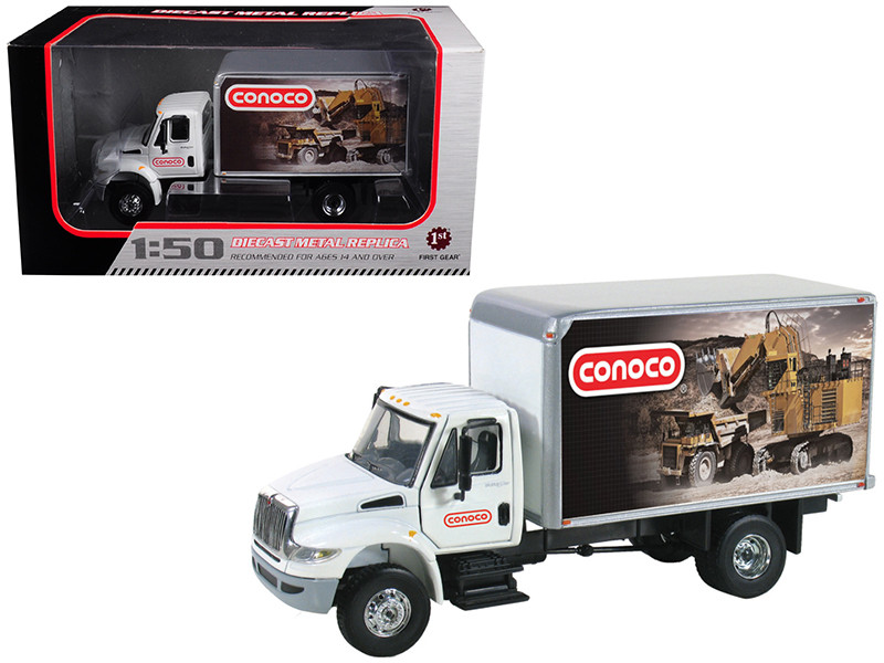International DuraStar Conoco Delivery Truck 1/50 Diecast Model First Gear 50-3276