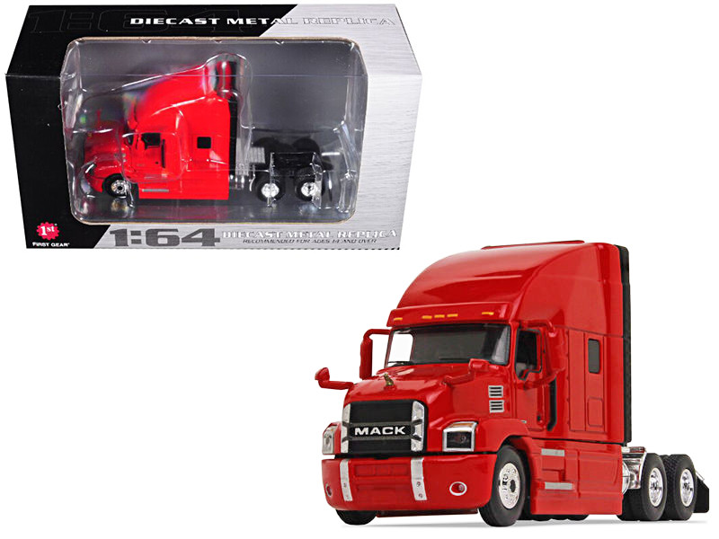 Mack Anthem Sleeper Cab Crossroads Red 1/64 Diecast Model First Gear 60-0363