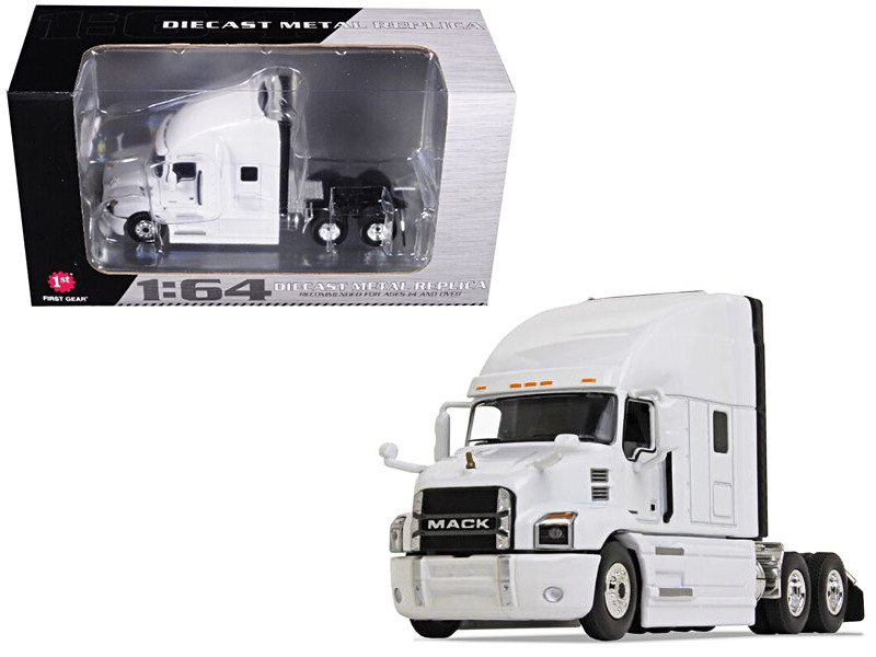 Mack Anthem Sleeper Cab White 1/64 Diecast Model First Gear 60-0365