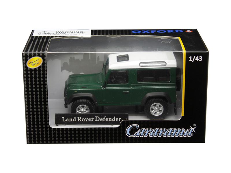 Land Rover Defender Dark Green 1/43 Diecast Model Car Cararama 4-55260