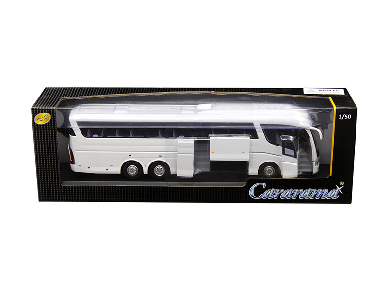 Scania Irizar Pb Bus White 1/50 Diecast Model Car Cararama 577-002 W