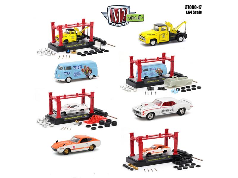 Model Kit 4 pieces Set Release 17 1/64 Diecast Model Cars M2 Machines 37000-17