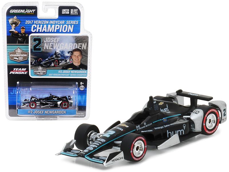 2017 Verizon IndyCar Series Champion #2 Josef Newgarden Penske Racing 1/64 Diecast Model Car Greenlight 10799