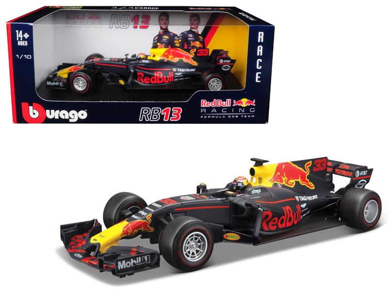 Renault Red Bull Racing TAG Heuer RB13 Formula 1 #33 Max Verstappen 1/18 Diecast Model Car Bburago 18002