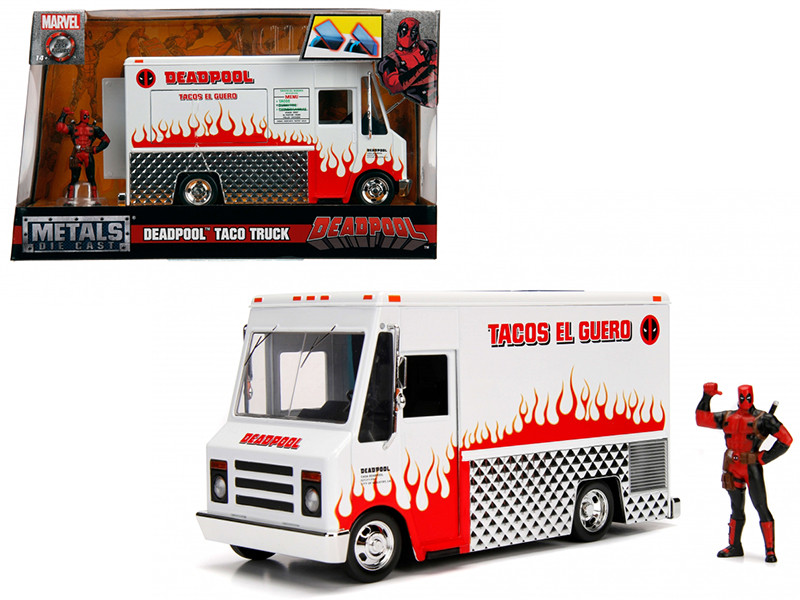 Deadpool Taco Truck Deadpool Diecast Figure Marvel Series Diecast Model Jada 99730