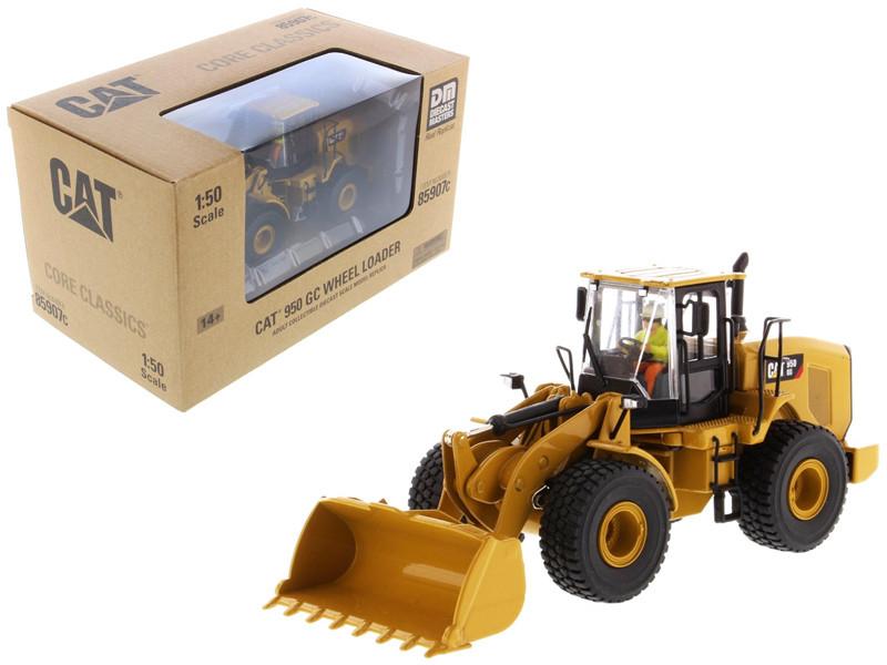 CAT Caterpillar 950 GC Wheel Loader Operator Core Classics Series 1/50 Diecast Model Diecast Masters 85907 C