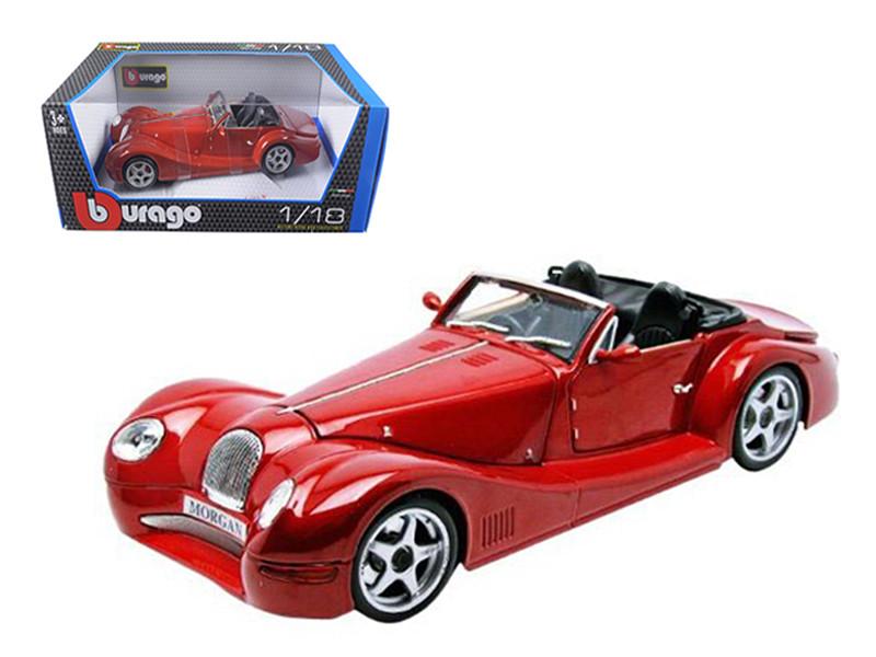 Morgan Aero 8 Red 1/18 Diecast Model Car by BBurago
