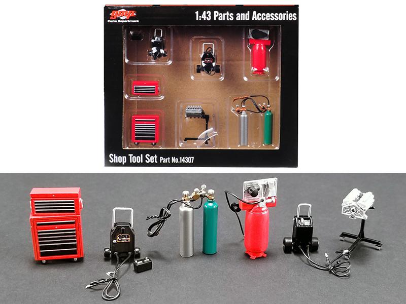 Shop Tools #1 Set 6 pieces 1/43 GMP 14307