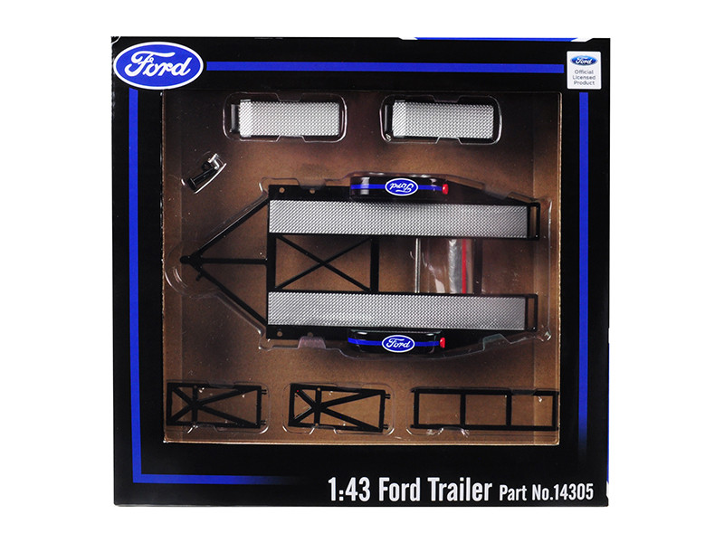 Tandem Car Trailer Tire Rack Ford 1/43 Scale Model Cars GMP 14305