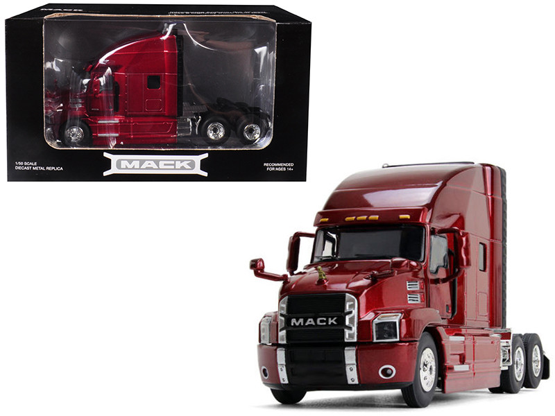 Mack Anthem Sleeper Cab Lacquer Red 1/50 Diecast Model First Gear 50-3402