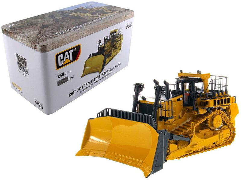 Cat Caterpillar D11T Track Type Tractor Dozer JEL Design Operator High Line Series 1/50 Diecast Model Diecast Masters 85565