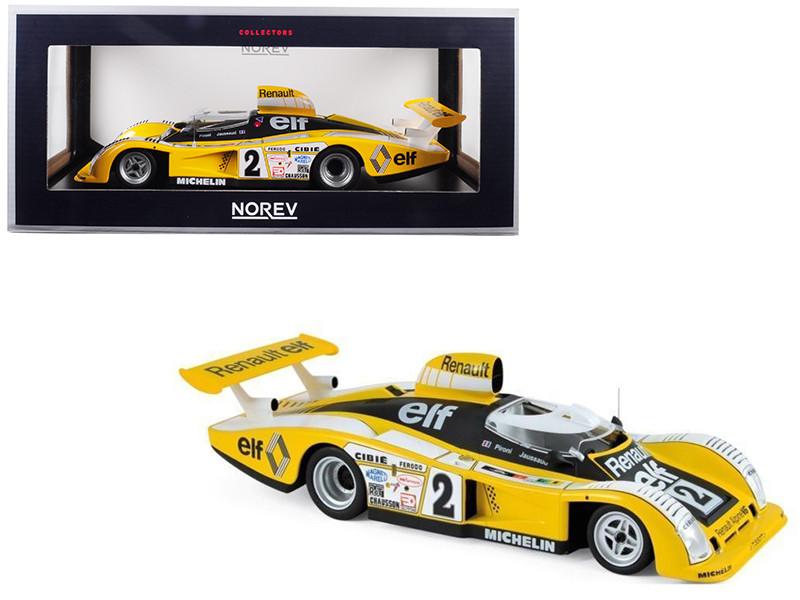 Renault Alpine A442B #2 Pironi Jaussaud Winner 24 Hours Le Mans France 1978 1/18 Diecast Model Car Norev 185145