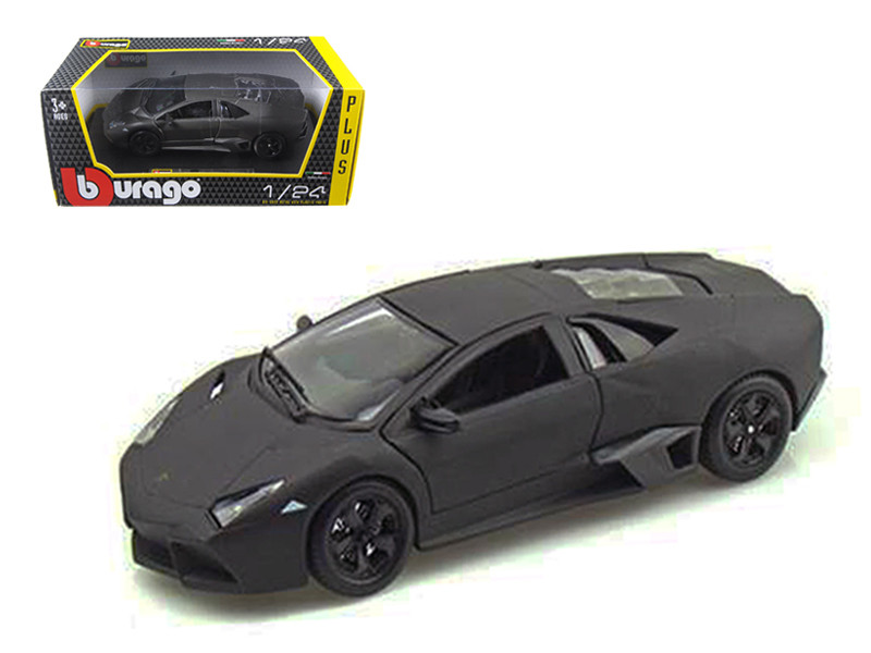 Lamborghini Reventon Grey 1/24 Diecast Model Car Bburago 21041
